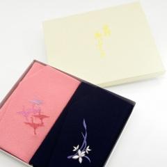慶弔刺繍ふくさセット (多鶴)